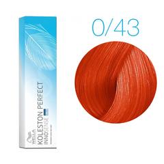 Wella Professionals Koleston Perfect Innosense 0/43 (Красно-золотистый) - Стойкая крем-краска для волос