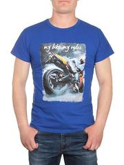 17616-2 футболка мужская, синяя