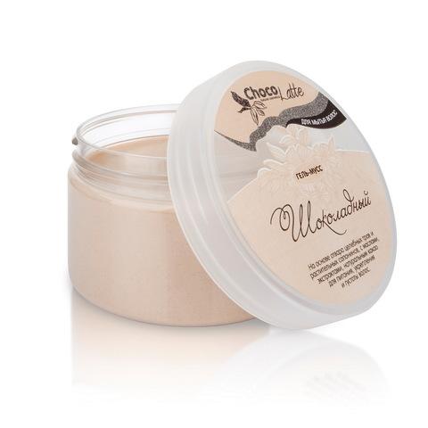 Гель-крем для мытья волос Мусс Шоколадный с какао, 280 мл TM ChocoLatte