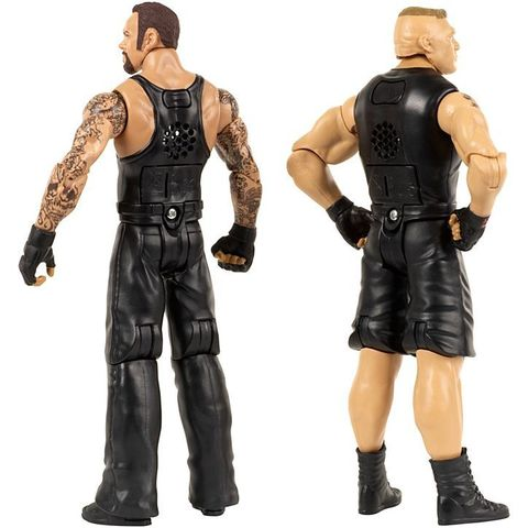 WWE Интерактивные фигурки Рестлеров Гробовщик и Брок Леснар