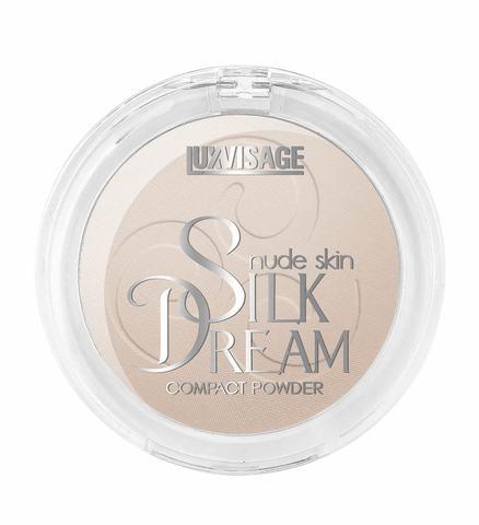 LuxVisage Silk Dream nude skin Пудра компактная тон 4 (Розовый Беж)