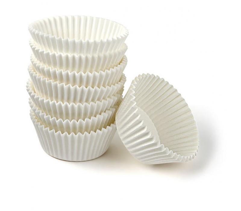 Форма для капкейков белая