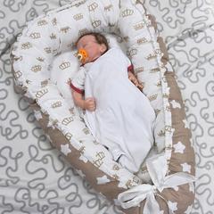 Farla. Кокон-гнездо для младенца Nest Королевский