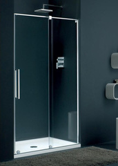 Дверь душевая в нишу раздвижная правая 120х195 см Provex S-Lite 0007 SN 05 GL R фото