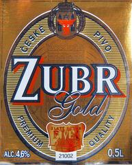 Пиво Zubr Gold