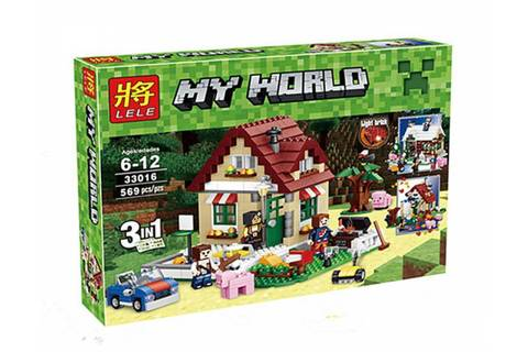 Конструктор Lele My World 33016 Времена года