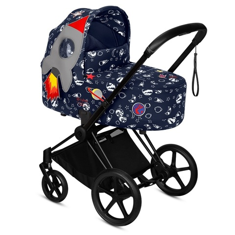 Cybex Priam III Lux Carrycot Space Rocket by Anna K