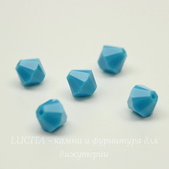 5328 Бусина - биконус Сваровски Turquoise 6 мм, 5 штук