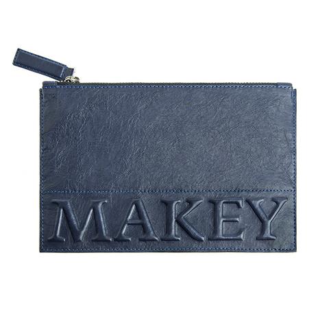 Косметичка «Makey forever!» синяя