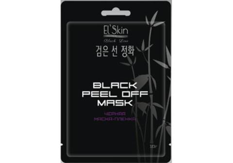 El`Skin ES-910 Black Line Черная маска-пленка 10г