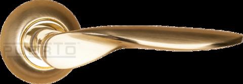 Фурнитура - Ручка Дверная  Puerto AL 509-08, цвет латунь матовая