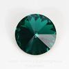 1122 Rivoli Ювелирные стразы Сваровски Emerald (SS47) 10,54-10,9 мм