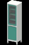 Шкаф лабораторный ШКа-1 АйЛаб Organizer (вариант 2)