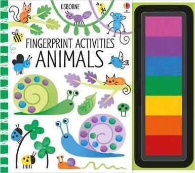 Kitab Fingerprint Activities: Animals   Fiona Watt