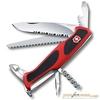 Нож перочинный Victorinox RangerGrip 155 130мм 12 функций красно-чёрный (0.9563.WC) нож перочинный victorinox rangergrip 155 с фиксатором лезвия