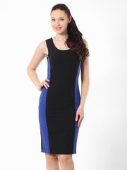 P309-890 платье сине-голубое