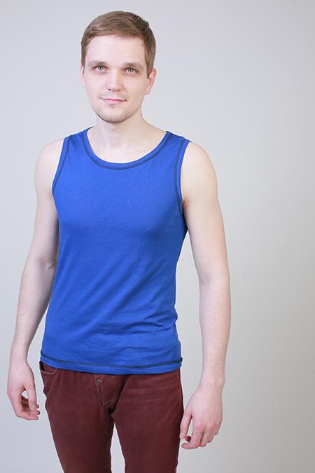 Выкройка мужской футболки без рукава фото