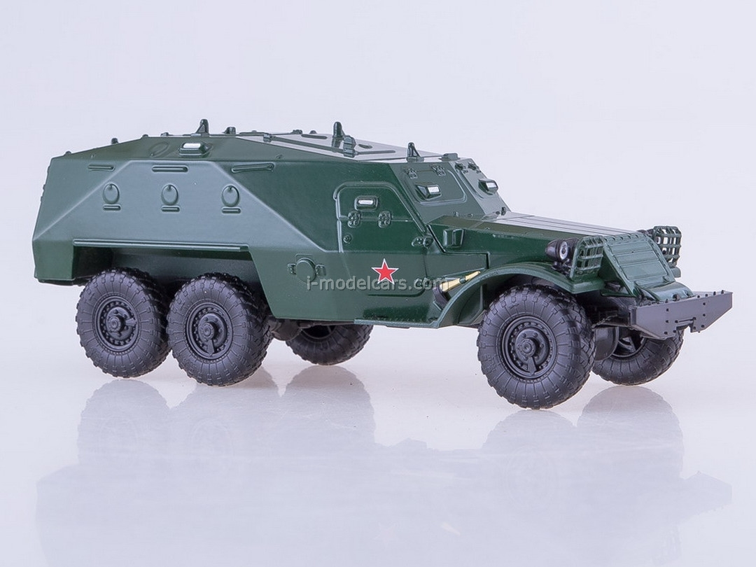 BTR-152K Armored personnel carrier green 1:43 AutoHistory