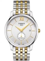 Мужские швейцарские часы Tissot Tradition Automatic Small Second T063.428.22.038.00