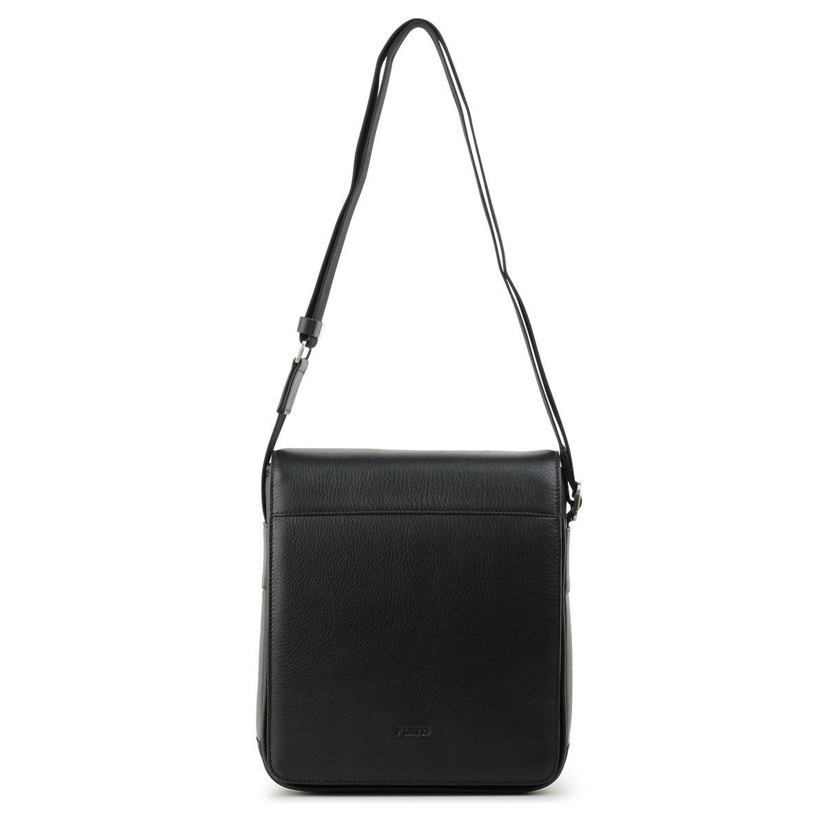 м41388 Fiato  кожа  черный (сумка мужская)