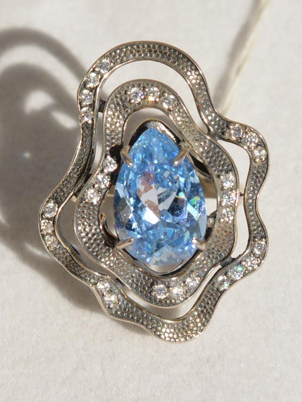Агаба  (кольцо из серебра)