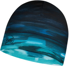 Тонкая теплая спортивная шапка Buff Hat Thermonet Khewra Blue