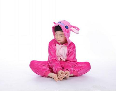 Розовый Стич детский 2