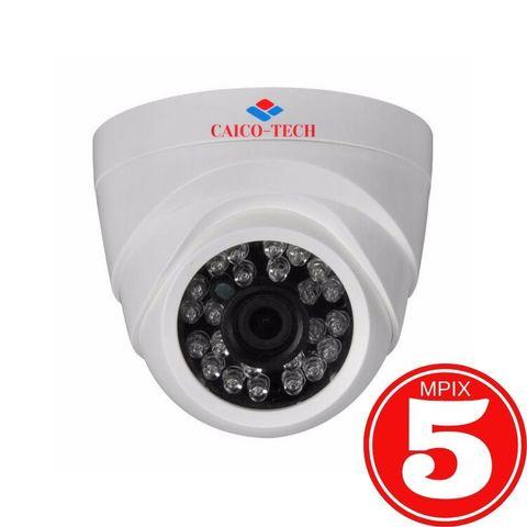 Купольная видеокамера для помещения CAICO TECH DS9A5 5Mpix гибрид AHD CVI TVI