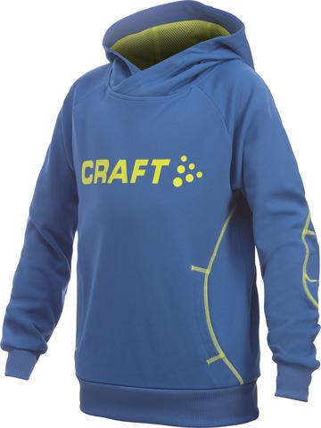 Толстовка Craft Flex Hood детская синий