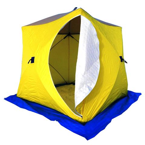 Палатка зимняя СТЭК КУБ-3 трехслойная