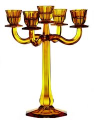 Подсвечник-канделябр 5 свечей Nachtmann Ravello желтый