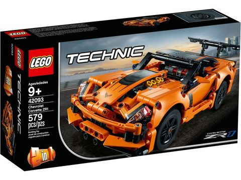 LEGO Technic: Chevrolet Corvette ZR1 42093 — Chevrolet Corvette ZR1 — Лего Техник