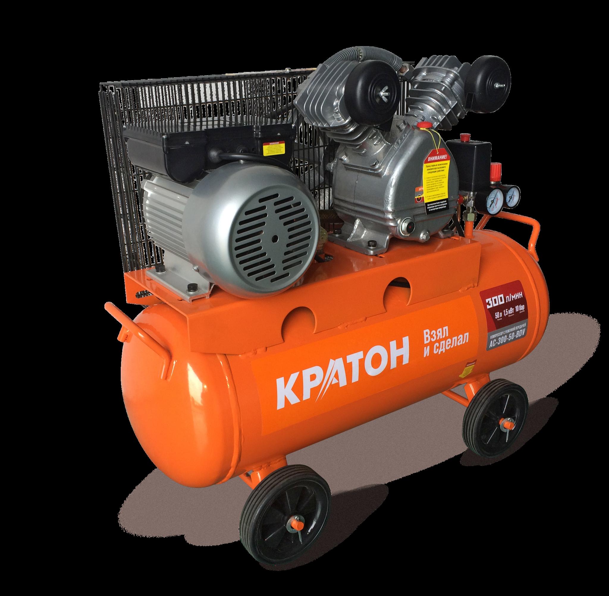 КРАТОН Компрессор с ременной передачей Кратон AC-300-50-BDV AC-300-50-BDV.png