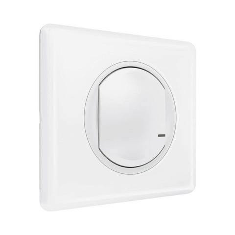 Выключатель одноклавишный беспроводной. Цвет Белый. Celiane NETATMO. 067723