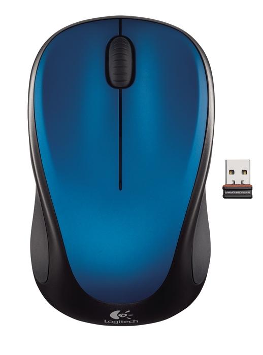 LOGITECH M235 Wireless Steel Blue