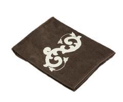 Полотенце 110х150 Old Florence Ricciolo коричневое