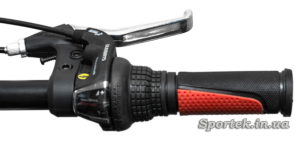Переключатель передач и тормоз горного складного универсального велосипеда Формула Хаммер (Formula Hummer)