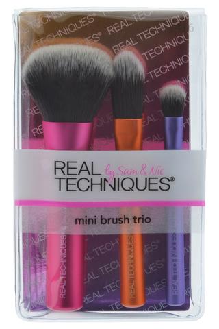 Набор мини-кистей Real Techniques Mini Brush Trio