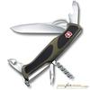 Нож перочинный Victorinox RangerGrip 61 130мм 11 функций чёрно-зеленый (0.9553.MC4) жидкий меланж купить у производителя