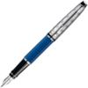 Перьевая ручка Waterman Expert 3 DeLuxe Obsession Blue CT перо F (1904580)
