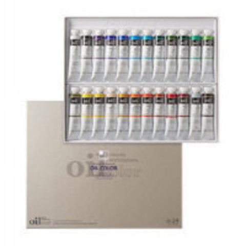 Набор масляных красок ShinHanart OIL COLOR PRO, 24 цвета, 20 мл