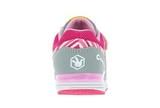 Кроссовки для девочек на липучках Фиксики, цвет серый. Изображение 4 из 5.