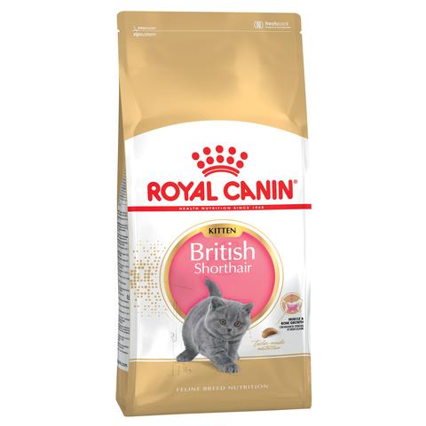 Royal Canin Kitten British Shorthair сухой корм для котят породы Британская короткошёрстная 400г