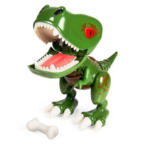 Интерактивный детёныш динозавра Зеленый ЗиРекс