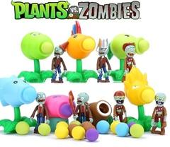 Растения против Зомби стреляющие игрушки