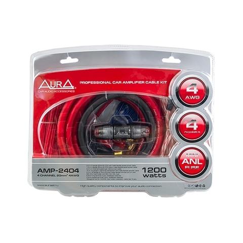 Комплект подкл. AURA AMP-2404 4*4GA