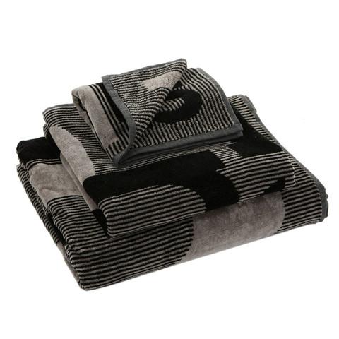 Набор полотенец 2 шт Emanuel Ungaro Club серый