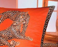 Наволочка 40x15 Elegante Gepard золото