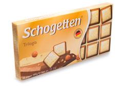 Белый шоколад с грильяжем и лесными орехами
