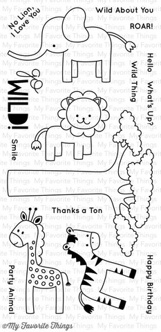 """Силиконовые штампы """"MSTN Wild Things"""""""